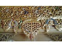 Large Thai Wooden Wall Art