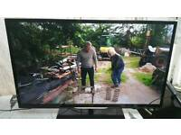 "46 "" Philips smart led LCD tv full hd USB, wifi, with built-in freeview."