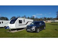 2013 Swift Challenger 580SE 4 Berth Fixed Island Bed
