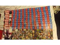 Marvel Fact Files issues 1 to 199 (all issues to date)