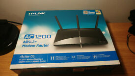 TP-Link Archer D5 AC1200 Wireless ADSL Router Used