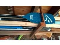 Branded canoe paddle junior size 1. 7 m for kayak canoe or similar