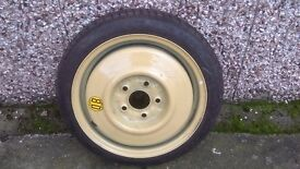 mazda 3 space saver wheel and tyre