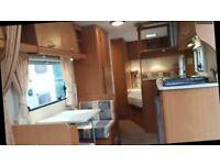 Bailey ranger caravan 620 /6 berth twin axel