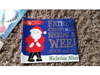 Father Christmas Needs a wee! Book and cd, potty training