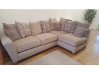 3 corner 1 sofa with footstool