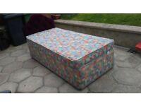 Single divan bed with mattress and headboard lurgan