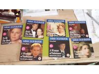 7 new dvds in the Barbara Taylor Bradford range as follows|:-