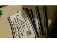 3 x tickets for so good at Ascot £40