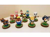 10 Animal Crossing Amiibo Collection, Nintendo, wii, wii u, switch, 3ds