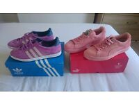 Adidas and puma size 6 trainers