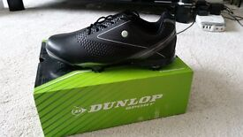 Excellent Dunlop Mens Golf Shoes - Brand New in box, Waterproof, Size 8