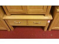 2 drawer coffee table - wood
