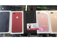 APPLE IPHONE 7+PLUS 128GB RED BRAND NEW SEAL BOXED 12 MONTH APPLE WARRANTY & RECEIPT