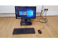 Dell Optiplex 7010 SFF Intel Core i5 3470 3.2GHz 4GB 500GB Win 10 Pro Dell 20inch Widescreen Monitor