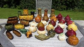 SylvaC face pots and vases