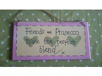 Friends and Prosecco