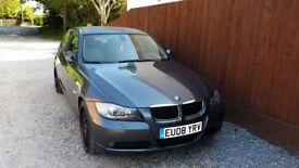 LHD BMW 320D 2008 79k miles UK plates