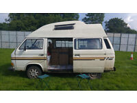 VW T25 Hightop Classic Campervan MOT til July 2017