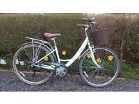 16in traditional ladies bike for sale, Viking Valencia 5 months old