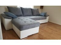 Delivery 1-3 days Brand new CONTI Corner Sofa Bed Sofa Corner Function Container for bedding