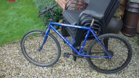 mongoose r60 bmx plus a free mountain bike both must go together