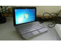 """HP 10"""" Laptop 160gb hard drive 2GB ram for only £50"""