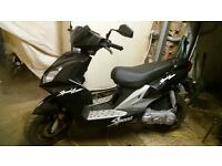scooter /moped for sale 350 ,no offers based in eccles... ,speed fighter rep; 70 cc kit upgrade