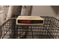 Retro Morphy Richards 3 band alarm clock radio