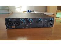 Saffire Focusrite Pro 14 firewire audio sound interface with MIDI ( external soundcard )