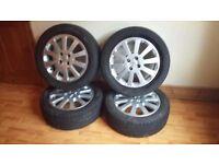 Vauxhall Corsa Astra Vectra SRI SXI 16'' Alloy Wheels ×4