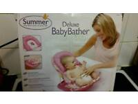0-3 months bath seat new in box