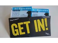2 x Ed Sheeran Tickets Barclaycard Arena Birmingham Sat 29th April.