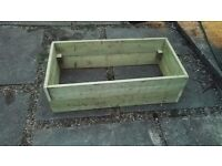 Raised Bed Vegetable Planter Wooden