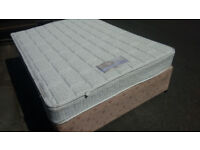Double divan bed . with mattress BARGAIN . Quick Free Delivery. No Stains clean mattress.