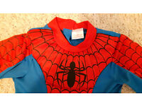 CHILDS SPIDERMAN COSTUME - AGED 5-6