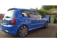 Renaultsport Clio 182 Racing Blue Full Fat 100k Belts Done £2495 ONO