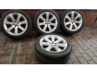 GENUINE OEM ALLOY WHEELS JAGUAR XK XKR XF 6W83-1007-AB 8W83-1007-BA 275 40 18