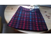 Chunky Wool Mini Skirt, Unworn