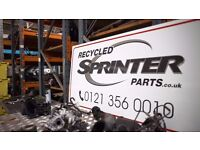 RECYCLED SPRINTER PARTS - 100's of Mercedes Sprinter Parts in stock!