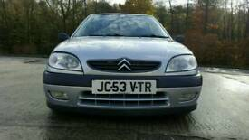 Citroen saxo 2003 VTR AIR RIDE low mileage