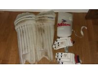Cricket Pads/Gloves/Thigh Pad - Men's size