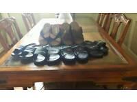 men's sandals 6 pairs