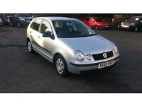 2003 Volkswagen Polo 1.2 Petrol, 103,000 miles, 12 Months MOT!