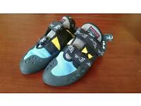 Salting Vampire rock climbing shoes 6uk