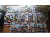 Large collection of carp/course fishing magazines