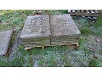used pre-cast concrete paving slabs