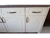 Selection of kitchen unit doors, end panels and drawer fronts.