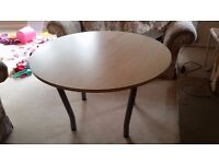 Office / Kitchen round table REDUCED (Free Local Delivery)