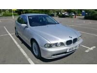 2002 BMW 520 I SE AUTO 4 door Saloon, Automatic, Silver